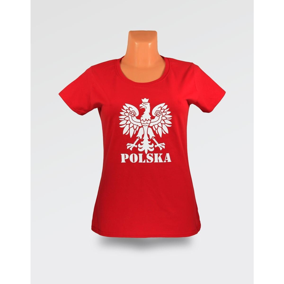 09eaeea53 WDK czerwona orzeł damska