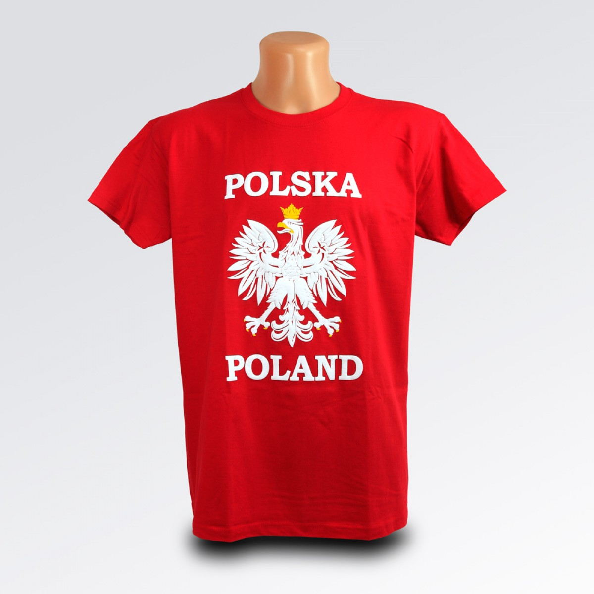 T shirt Polska orzeł czerwona