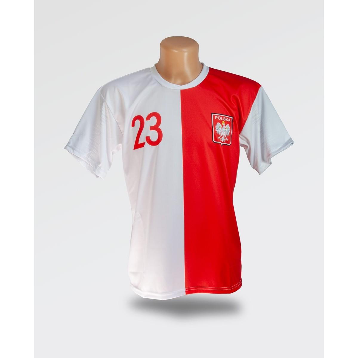 Biało czerwona koszulka Piątek 2019