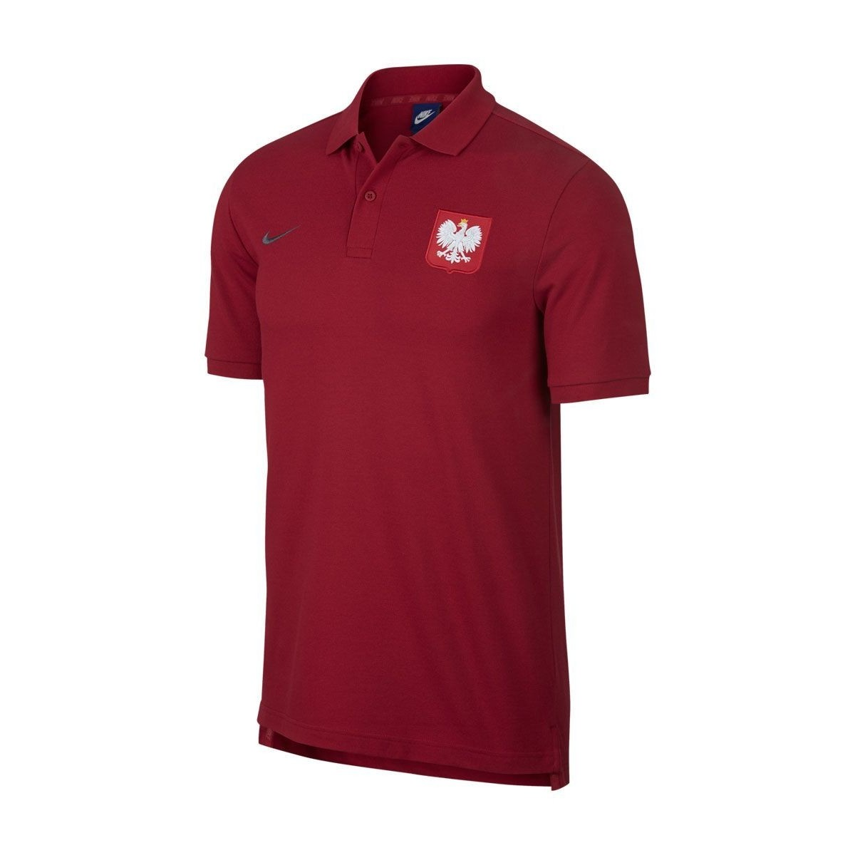 c7d52ff7b Koszulka Polo Nike Polska - czerwona