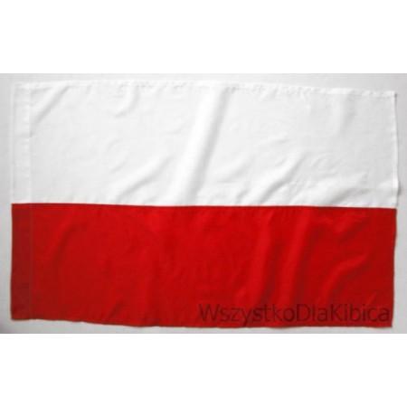 Flaga Polska gładka 75/125 cm