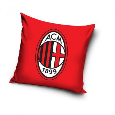 Poduszka AC Milan z dużym herbem klubu