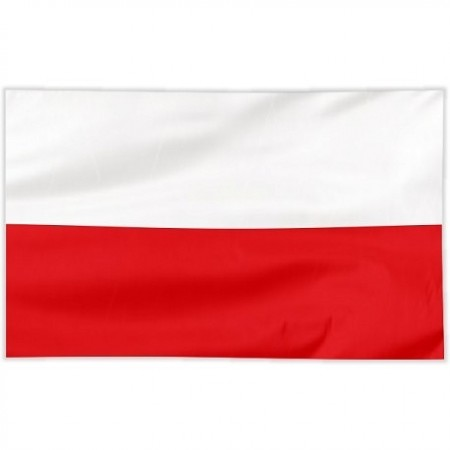 Flaga szyta gładka 100/60 cm