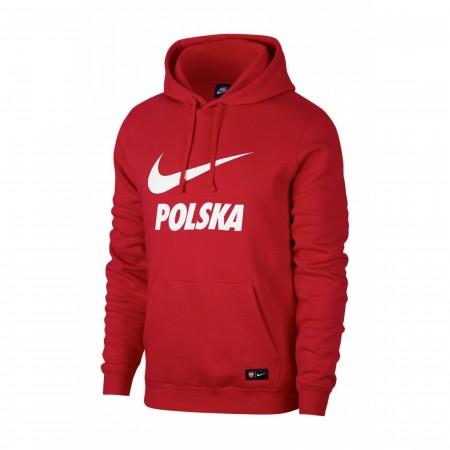 Męska bluza z kapturem Nike Polska NSW Hoodie
