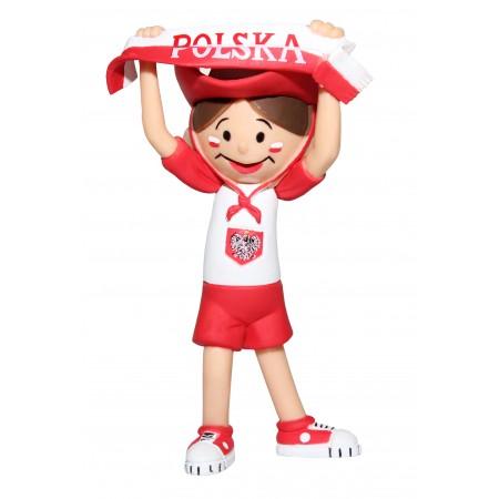 Licencjonowana figurka - Bolek kibic