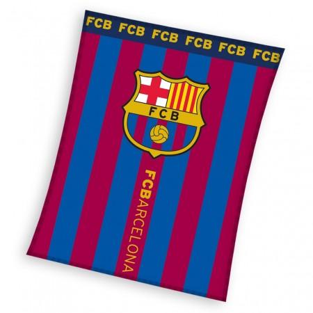 Licencjonowany Koc polarowy FC Barcelona 110 x 140 cm FCB181020