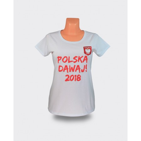 Koszulka damska Polska Dawaj 2018!