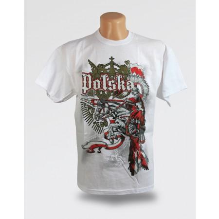Biała koszulka - Husar