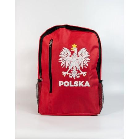 Czerwony plecak WDK - wzór 1