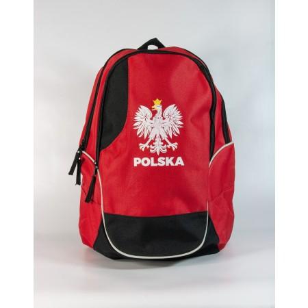 Czerwony plecak WDK - wzór 3