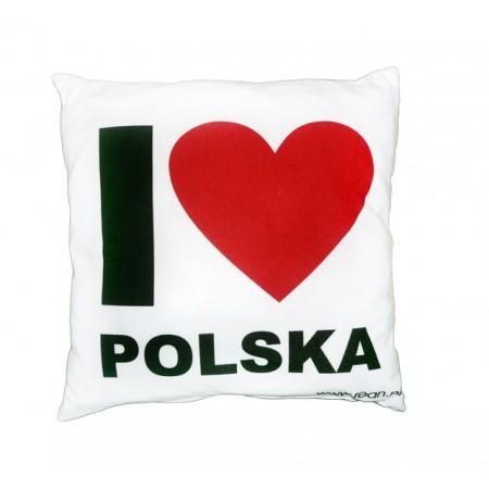 Poduszka pamiątka I Love Polska
