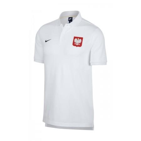 Koszulka Polo Nike Polska - biała