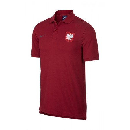 Koszulka Polo Nike Polska - czerwona
