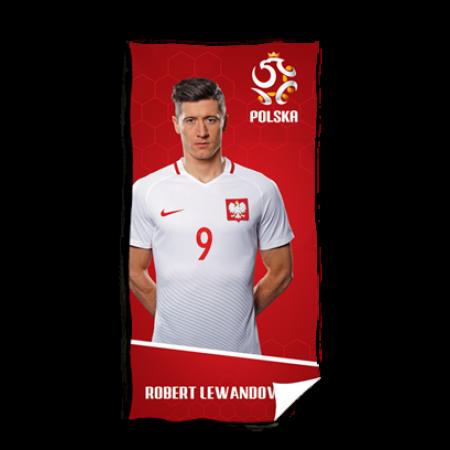 Ręcznik Polska - Robert Lewandowski - wzór 2