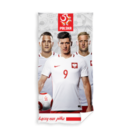Ręcznik Polska - Robert Lewandowski - wzór 5