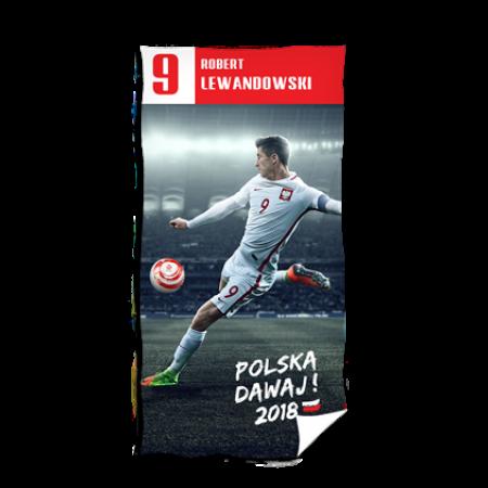 Ręcznik Polska - Robert Lewandowski - wzór 1