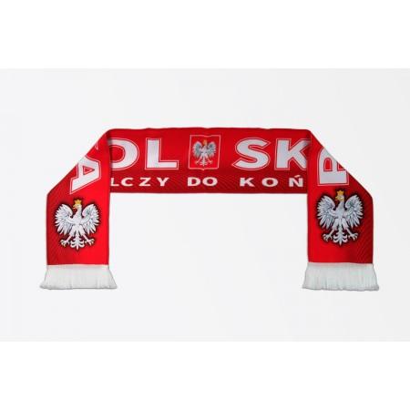 Drukowany szalik kibica Polska Walcząca