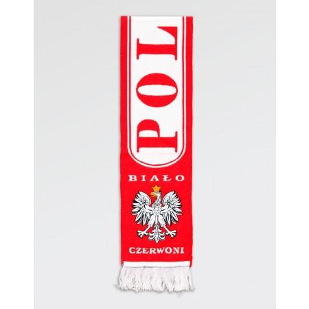 Szalik kibica HD Polska Biało-Czerwoni II