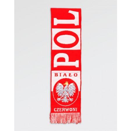 Szalik kibica Polska Biało- Czerwoni III
