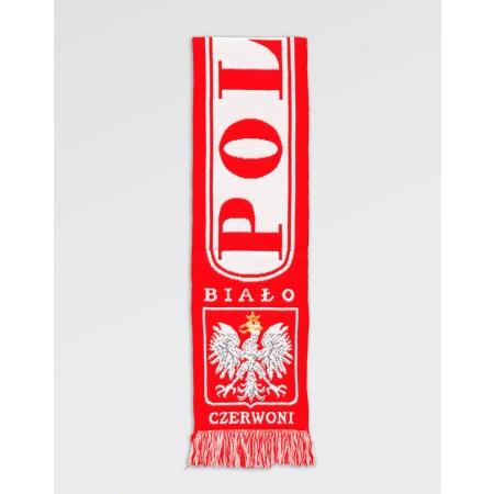 Szalik kibica Polska Biało- Czerwoni II