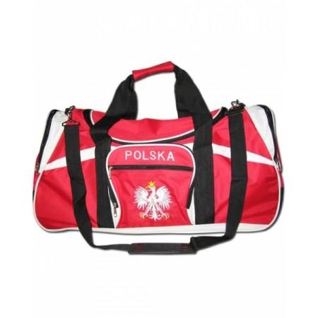 Sportowa torba kibica Polska wzór 1