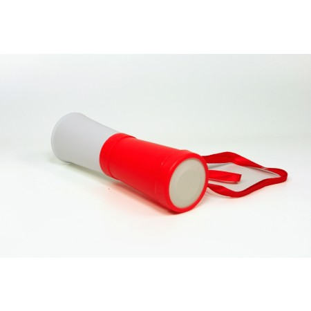 Mała trąbka dla kibica biało-czerwona