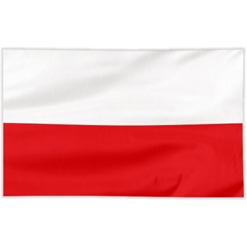 Flaga szyta gładka 180/120 cm