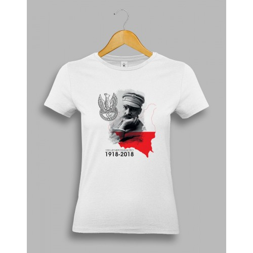 """Damska koszulka na Święto Niepodległości """"Piłsudski"""""""