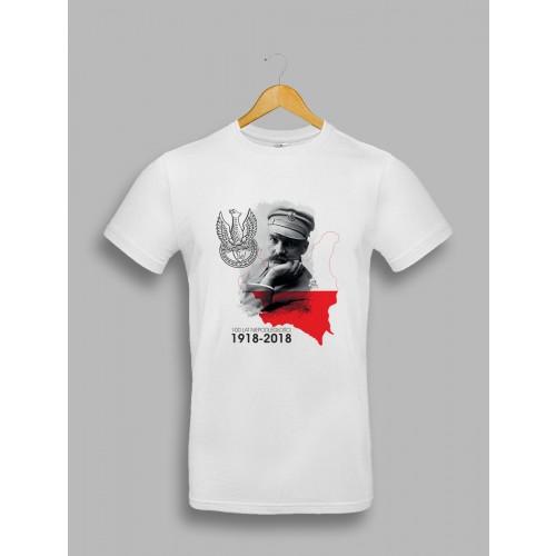 """Męska koszulka na Święto Niepodległości """"Piłsudski"""""""
