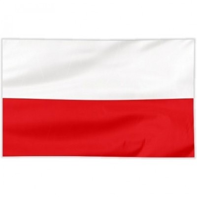 Flaga szyta gładka 120/75 cm