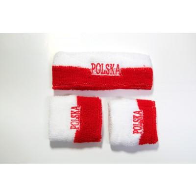 Frotka Polska opaska, frotki 2 sztuki