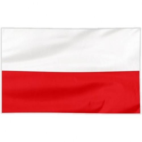 Flaga szyta gładka 100x60 cm