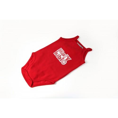 Body na ramiączkach mały kibic czerwony