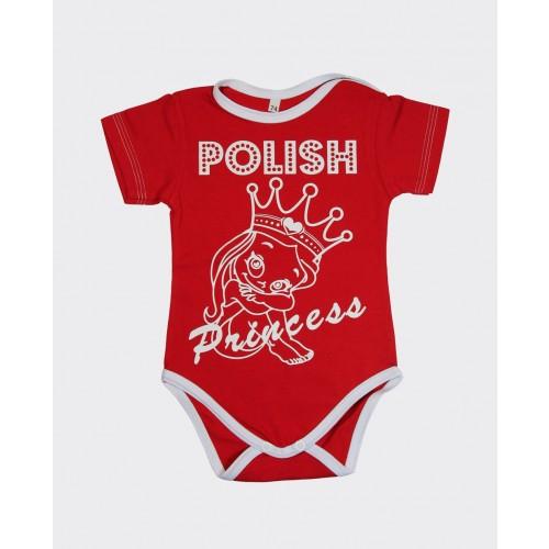 Body z krótkim rękawem - Polish Princess