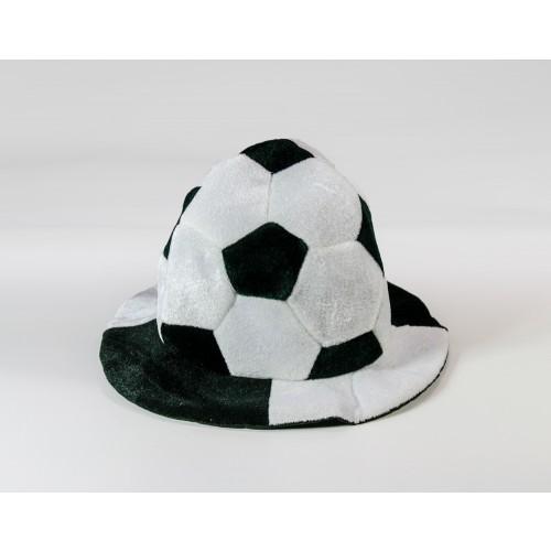 Czapka Piłka - biało-czarna
