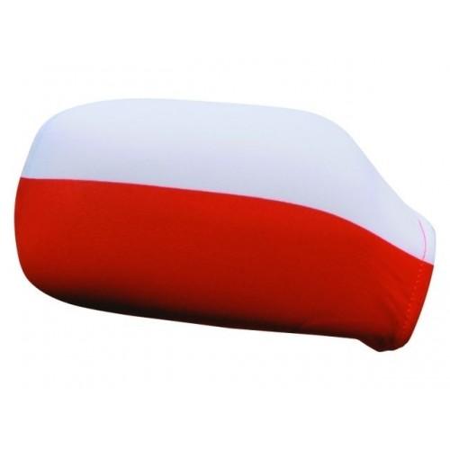 Pokrowiec na lusterka - flaga Polska