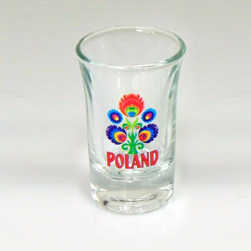 Kieliszek folk - Kwiat
