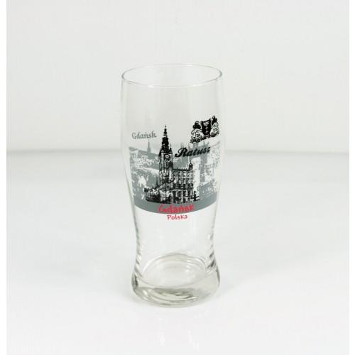 Szklanka do piwa Gdańsk - Ratusz