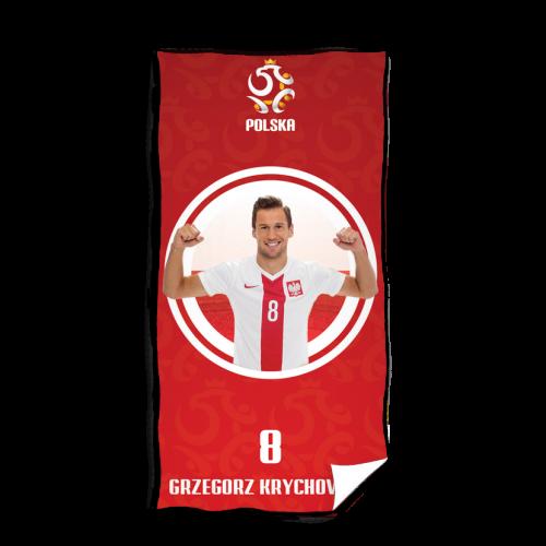 Ręcznik Polska - Grzegorz Krychowiak - wzór 2