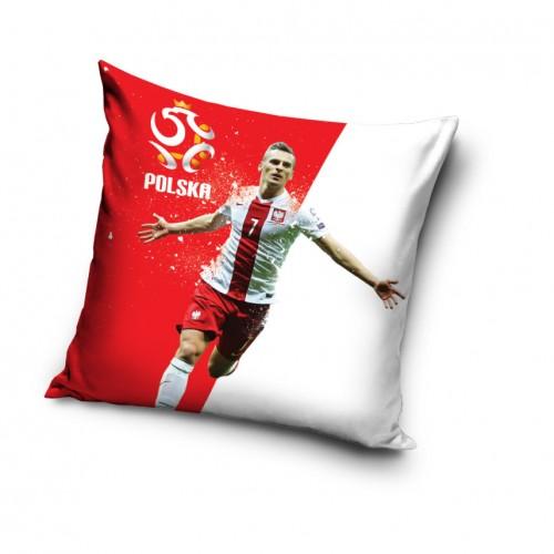 Poszewka na poduszkę Polska - Milik