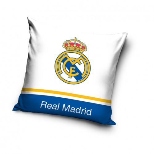Poszewka na poduszkę Real Madrid z niebieskim paskiem