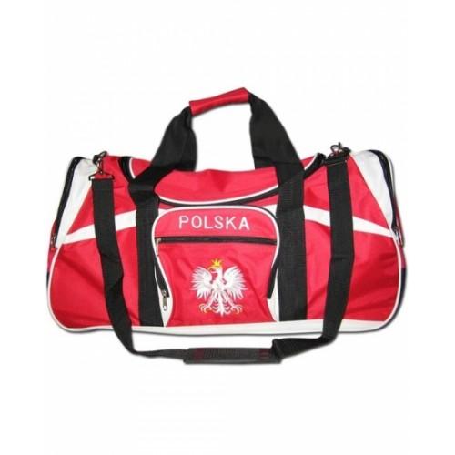 Sportowa torba kibica Polska