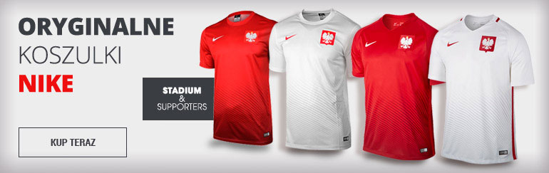Oryginalne koszulki reprezentacji Polski Nike