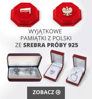 Pamiątki z Polski ze srebra