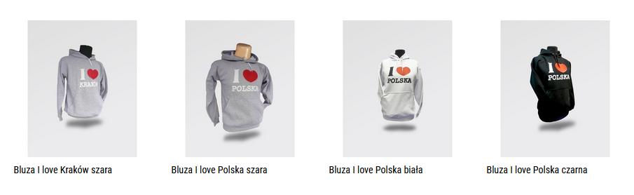 bluzy Polska