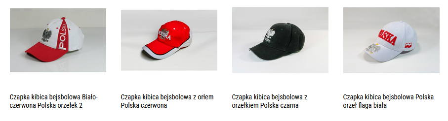 czapki kibica polska