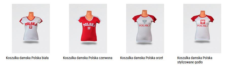 koszulki damskie Polska