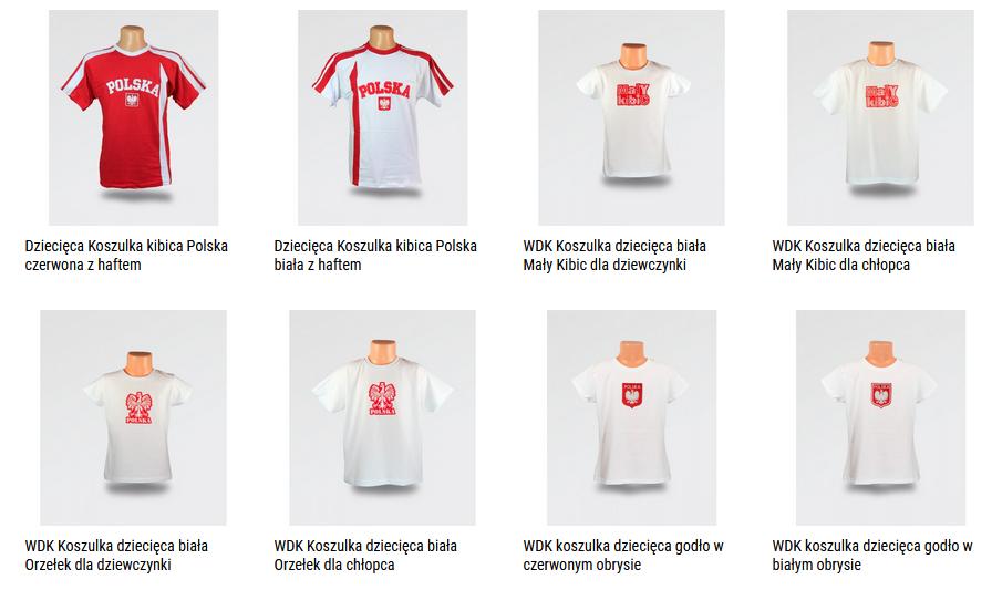 koszulki dziecięce Polska