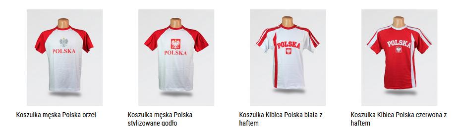 koszulki męskie Polska