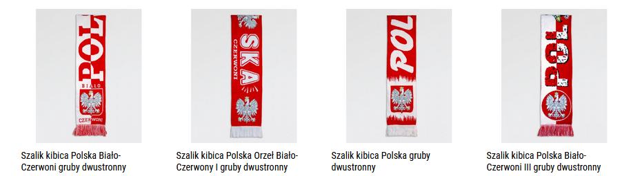szaliki polska